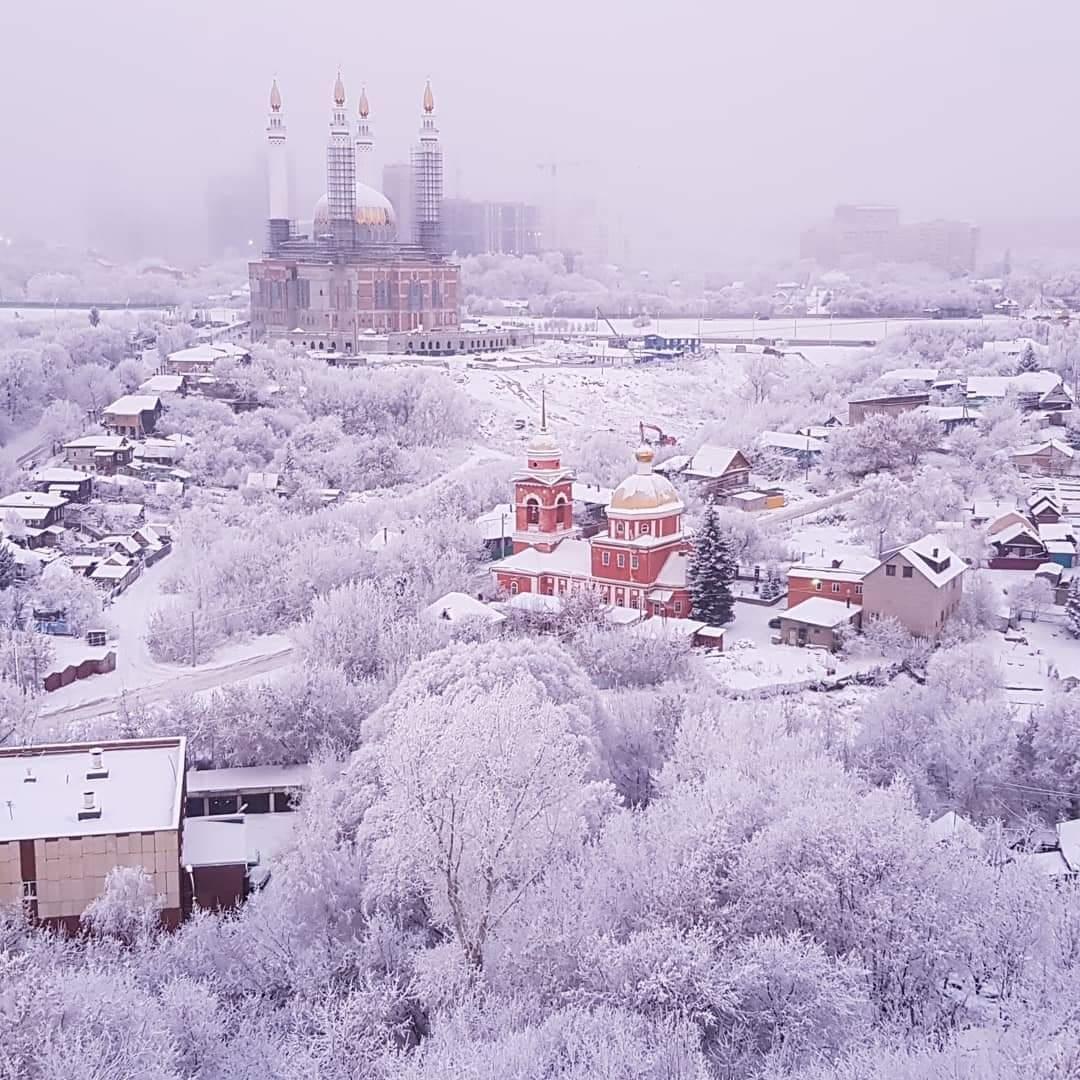 других городов фото примечательных мест в уфе зимой временем многие стали