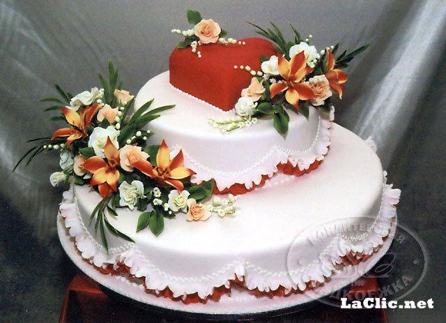 Красивые бисквитные торты