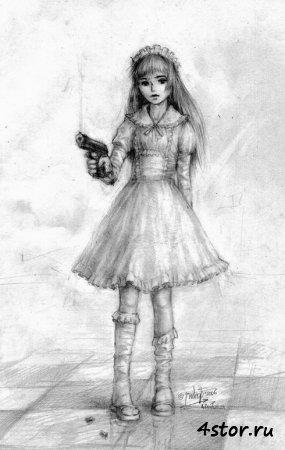 Девочка с пистолетом.