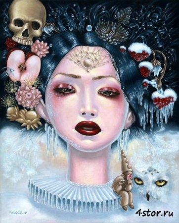 Michelle Mia Araujo - иллюстратор жутких сказок