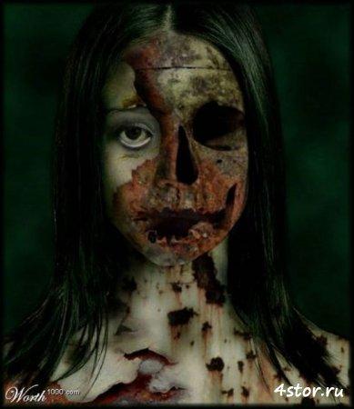 страшные картинки про зомби