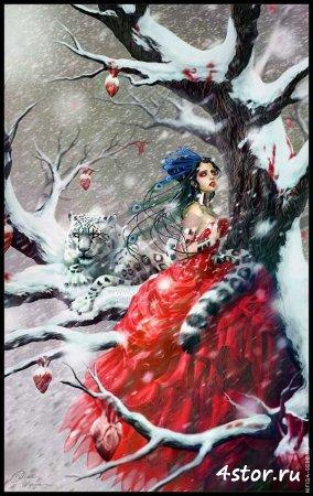 Творчество французской художницы Дианы Оздомар (Diane Ozdamar)