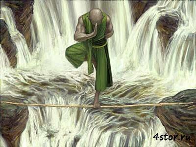 Притча о дзенском монахе
