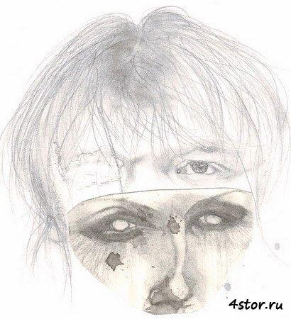 Рисунки душевнобольных