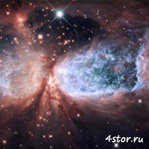 В космосе засекли ангела