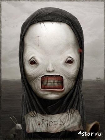 Страшные рисунки от Антона Семенова