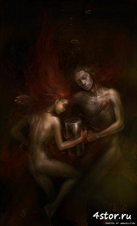 Страшные картины от Anna Ignatieva