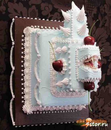Зубастые торты, которые могут Вас укусить