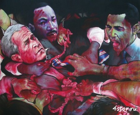 Страшные карикатуры от Grayson Castro