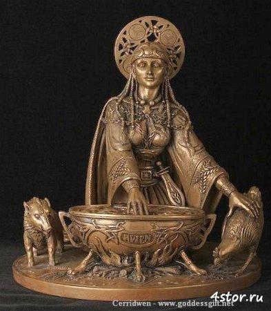 Боги – покровители июня в древних мифах и легендах. Серридвен и ее котел