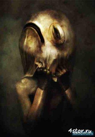 Психоделические картины от Риохей Хазе