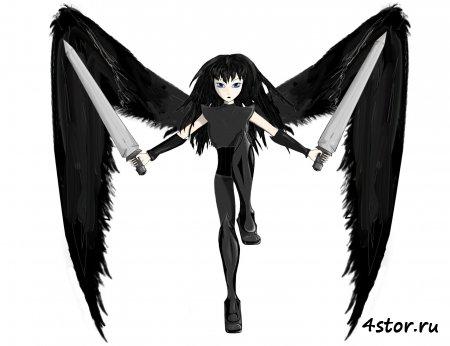 Девушки с крыльями