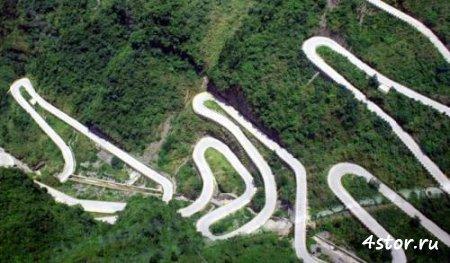 Дорога в небеса – самая страшная дорога Китая