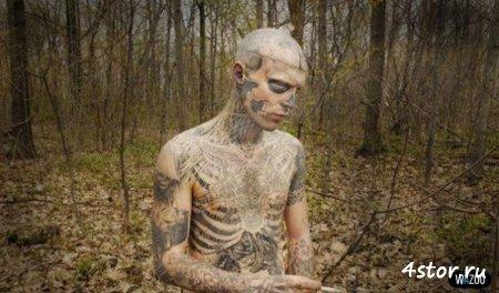 Страшные татуировки
