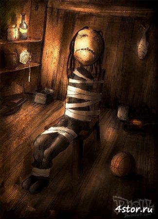 """Страшные рисунки """"кукол"""" 2"""