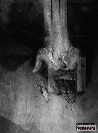 Депрессивные мистические рисунки