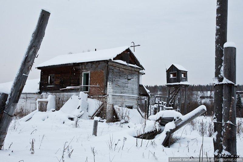 Заброшенная колония строгого режима (Пермский край. Россия)
