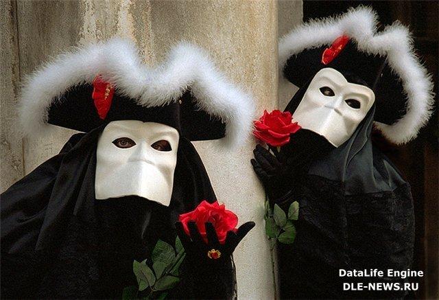 Венецианские карнавальные маски » Страшные истории - photo#21