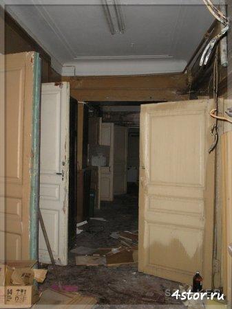 Заброшенный корпус НИИ мозга. Москва