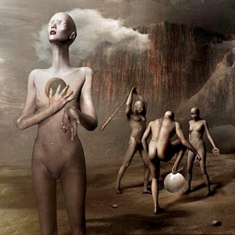 Мрачные картины Davida Ho