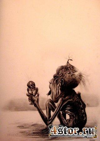 Fredo, 17-летний художник из Чили