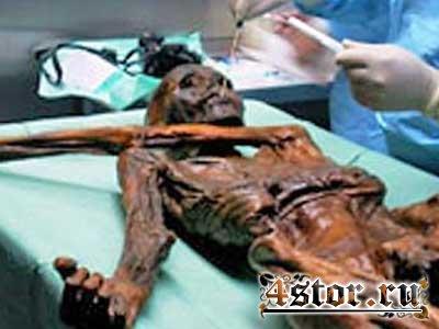 мумия эци фото