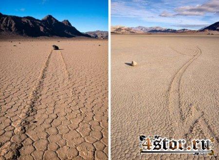 Ползущие камни Долины Смерти (Фото)