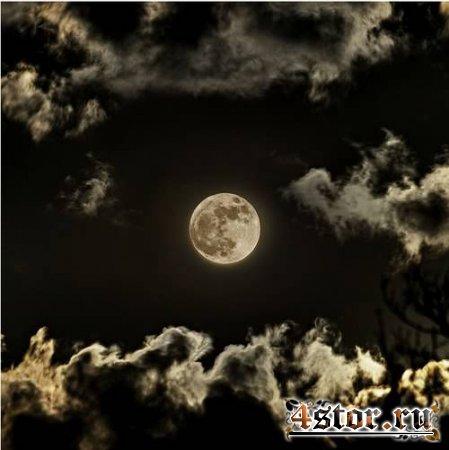 Летняя луна в комнате