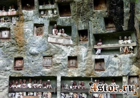 В Индонезии трупы сами идут в могилу(Полная версия)