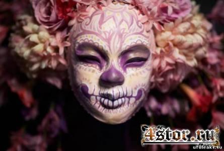 Four Seasons Muertitas – странные маски от Krisztianna