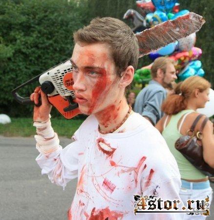 Парад зомби в Санкт-Петербурге в 2010 году