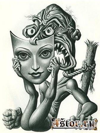 Психология, как её видит сюрреалист