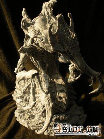 Потрясные скульптуры по старкрафту