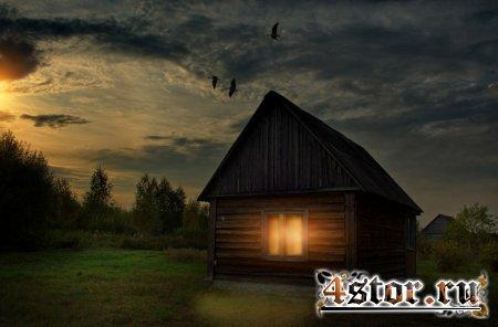 Аномальная деревня Черный Поток