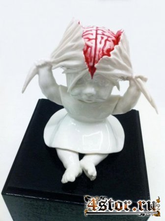 Жутковатые скульптуры Марии Рубинке