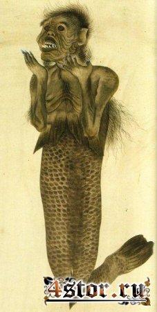 Японские русалки нингё