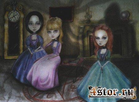 Art by Little Mu (ведьмы)