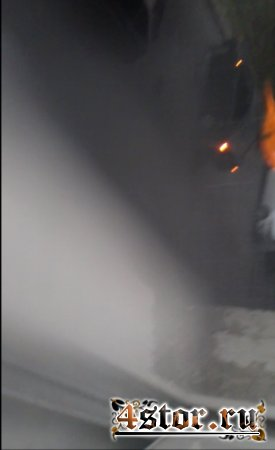 Огненный призрак