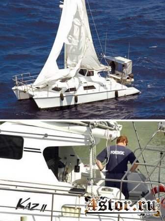 Яхта-призрак Kaz II