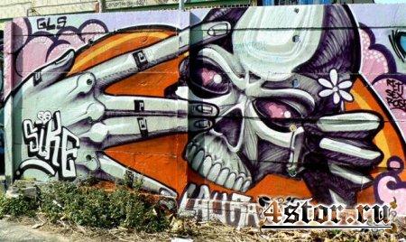 Мистика в граффити