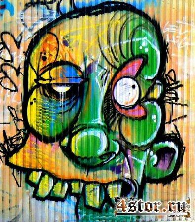Зомби в граффити