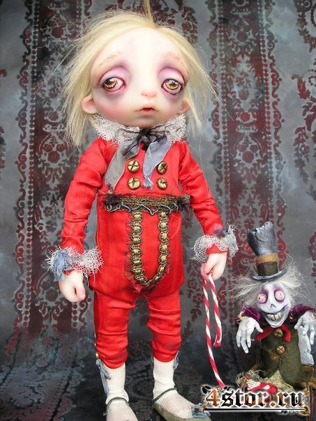 Грустные куклы Gail Lackey