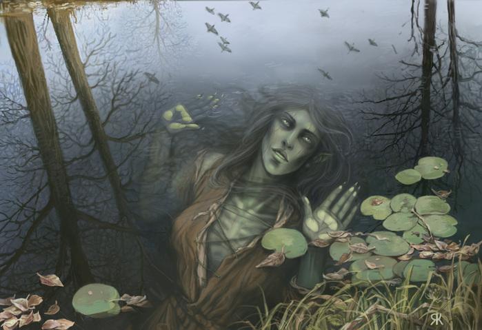 Обитатели трясин или нечисть болотная