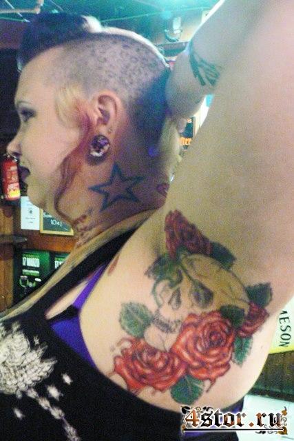 Моя знакомая наколола эти татуировки