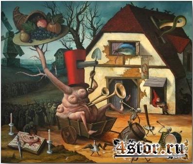Основатель сюрреализма - Иероним Босх