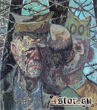 Жизнь Второй мировой войны в страшных артах Отто Дикса
