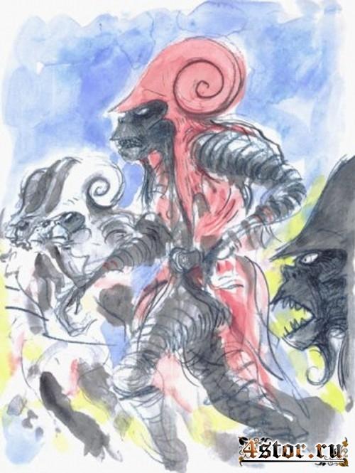 Рисунки Тима Бертона. Часть вторая