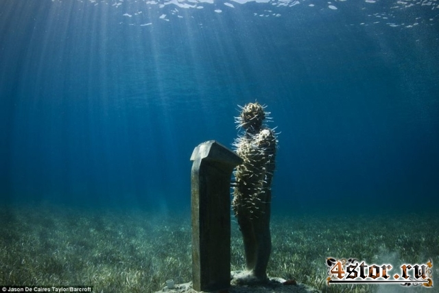 Подводные скульптуры Джейсона Тейлора