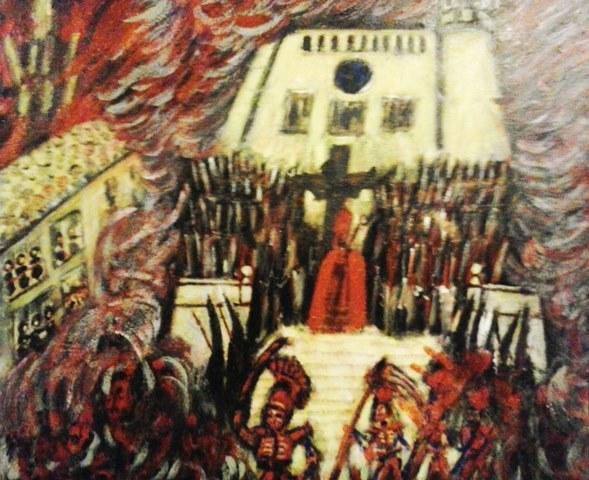 Бесы окружили епископа