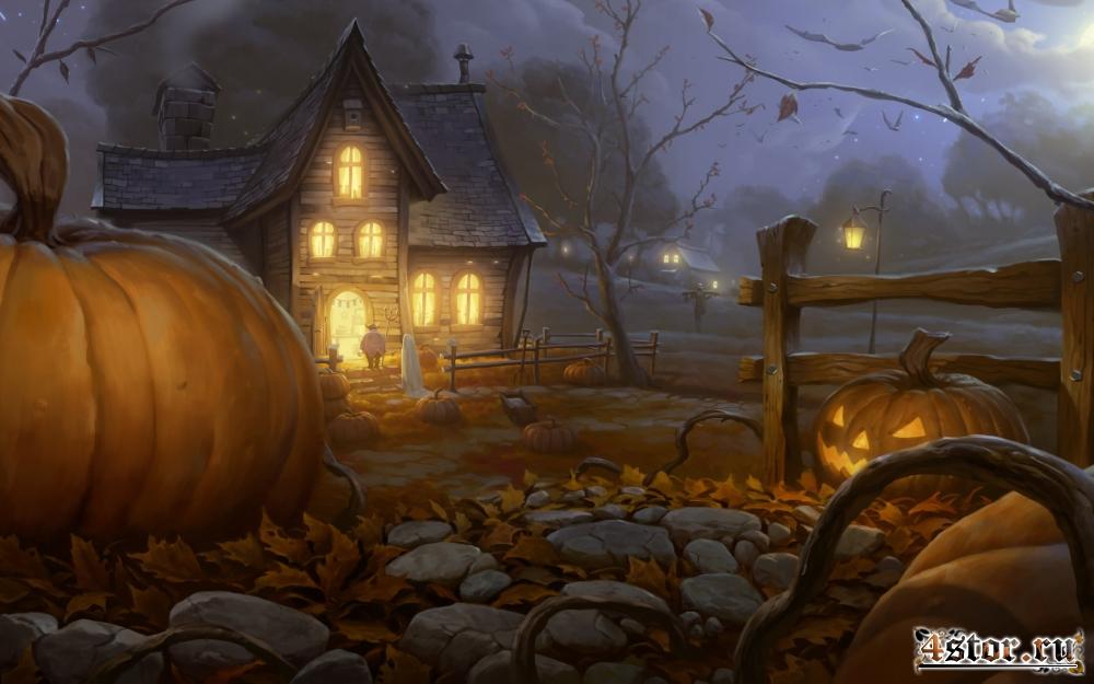 Хэллоуин...